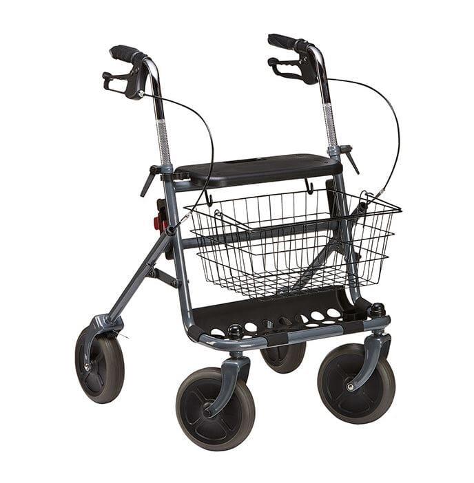Rullator Mobility, XXL for overvektig eller ekstra høyde