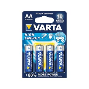 Varta Alkaline High Energy batteri, AA