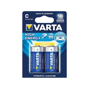 Varta Alkaline High Energy batteri, C