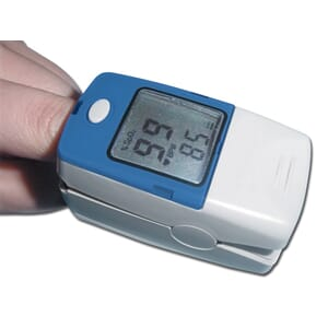 Finger pulsoksymeter LED