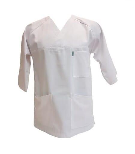 4dad33d1 Kittel eller overdel Unik Hvit 3/4 arm til helsepersonell og ...