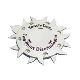 Touch-Test Two Point Discriminator